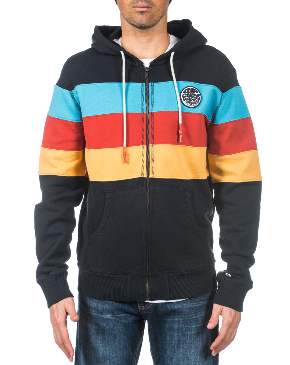 OS Cut Stripes Hz Fleece