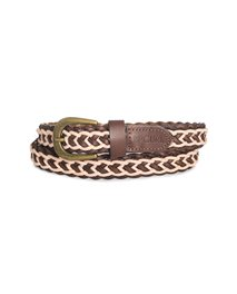 Inca Plaited Leather Belt
