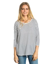 Ellie Stripe 3/4 Tee