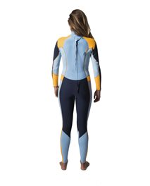 Womens Dawn Patrol 5/3 BackZip