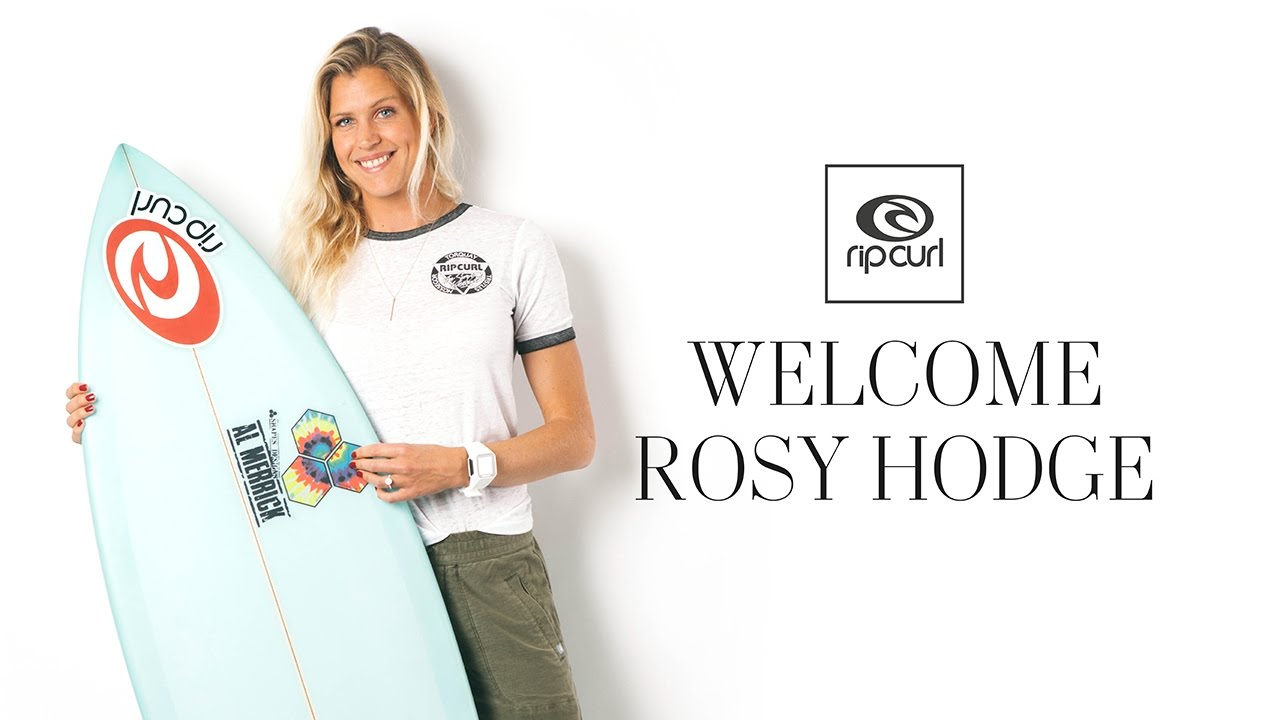 WSL Sportscaster Rosy Hodge Joins The Rip Curl Crew