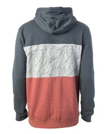 Hooded Block Fleece