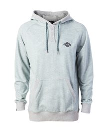 Hooded  Stripe Fleece