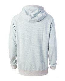 Hooded  Stripe Fleece