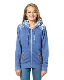 Del Sol  Zip Thru Fleece