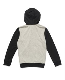 Bi  Color Hooded Zip Fleece