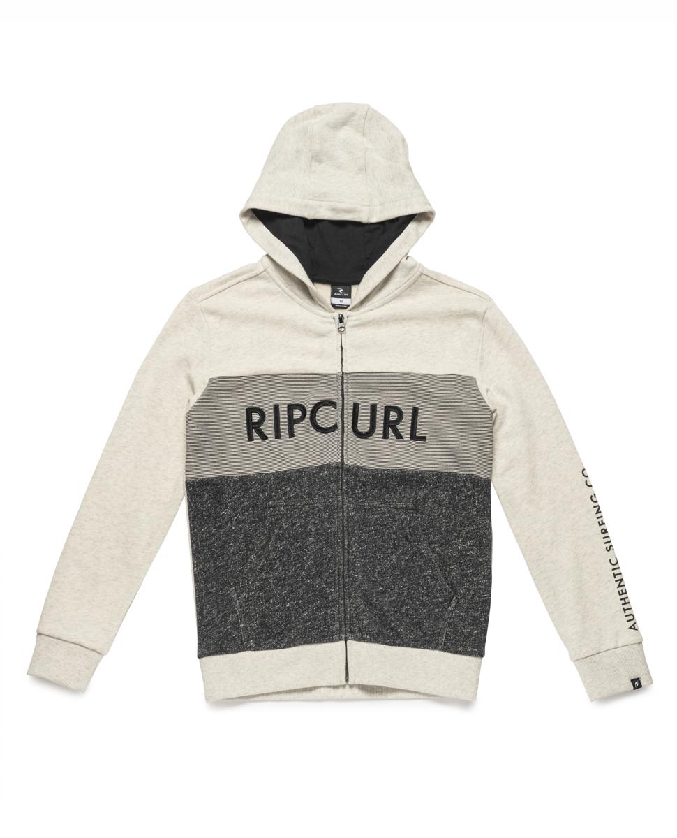 Authentic Hooded Zip Fleece