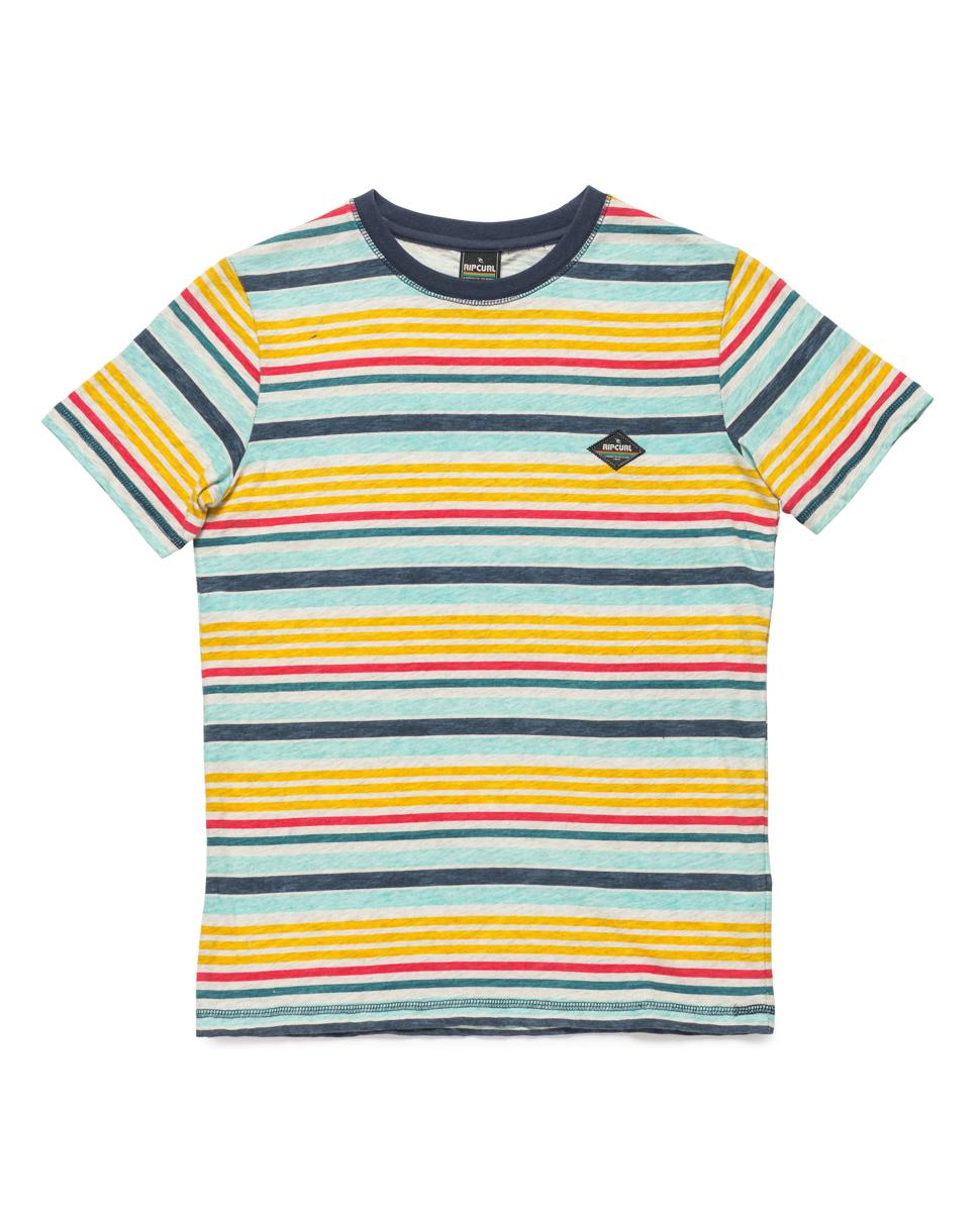 Striped Ss Tee