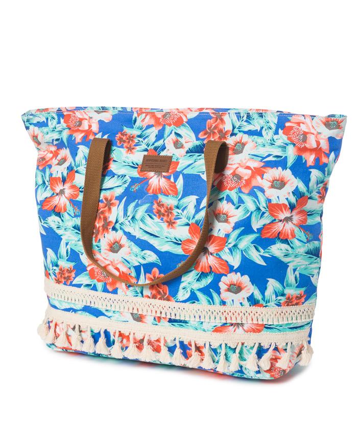 Mia Flores Beach Bag