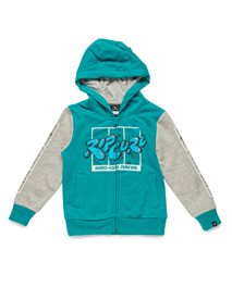 100% Core Surf Hooded Zip Fleece