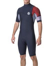 E Bomb 2/2 Zip Free Short Sleeve - Wetsuit