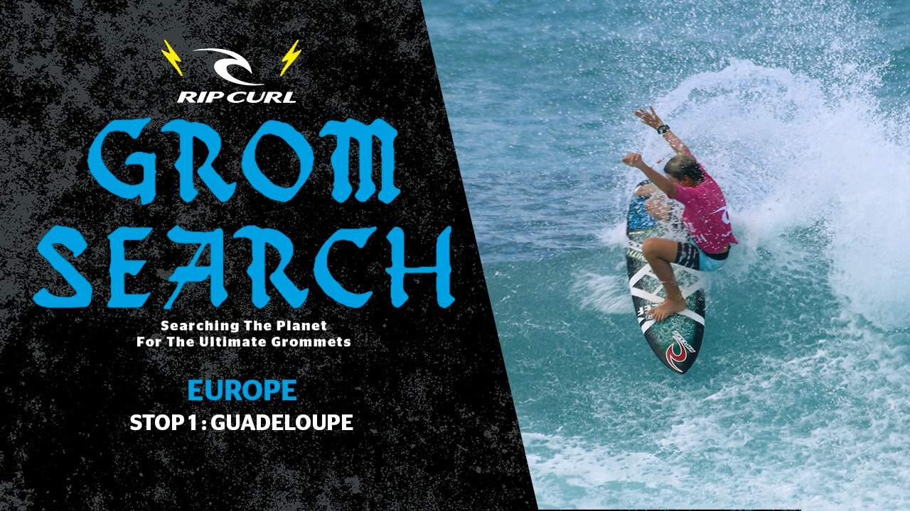 Rip Curl GromSearch 2017 RESULTATS GUADELOUPE