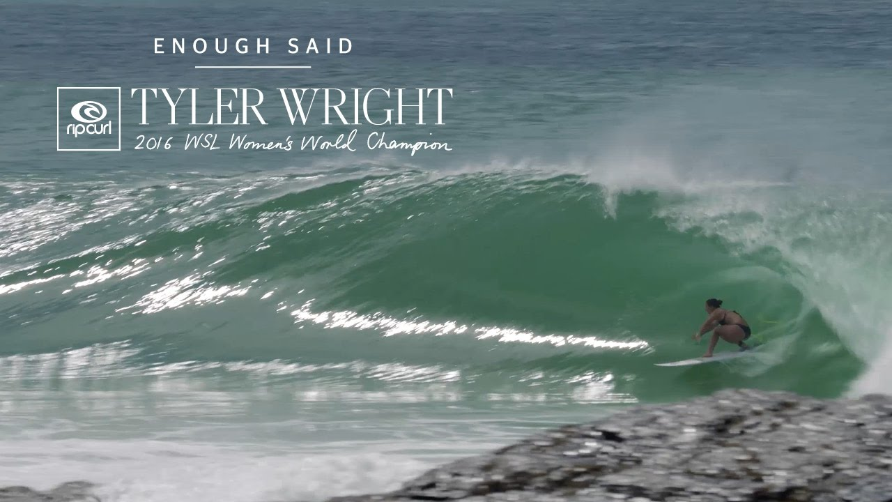 Tyler Wright is Ready: Bring on 2017