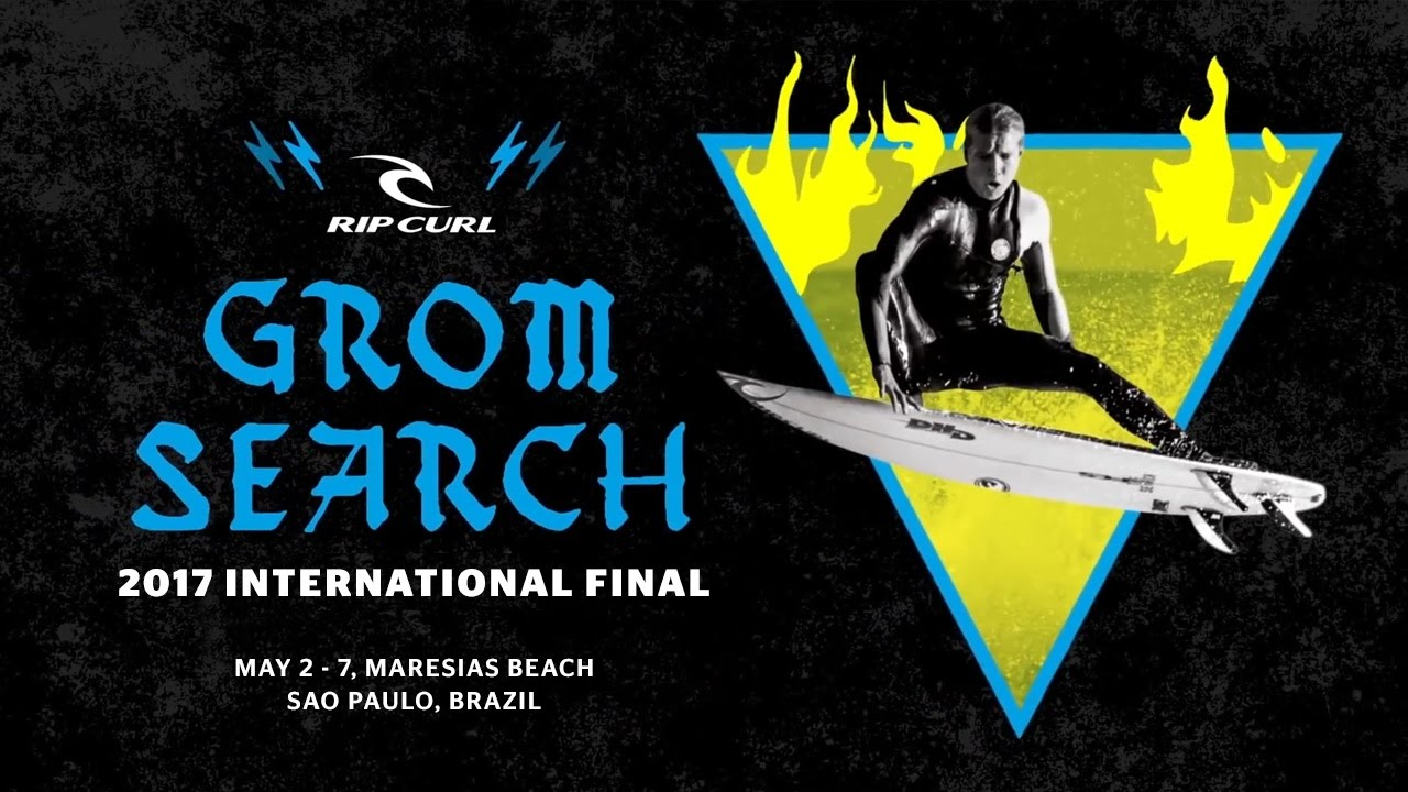The 2017 Rip Curl GromSearch International Final Is Set To Kick Off On May 2 – 7 on Maresias Beach, Sao Paulo, Brazil