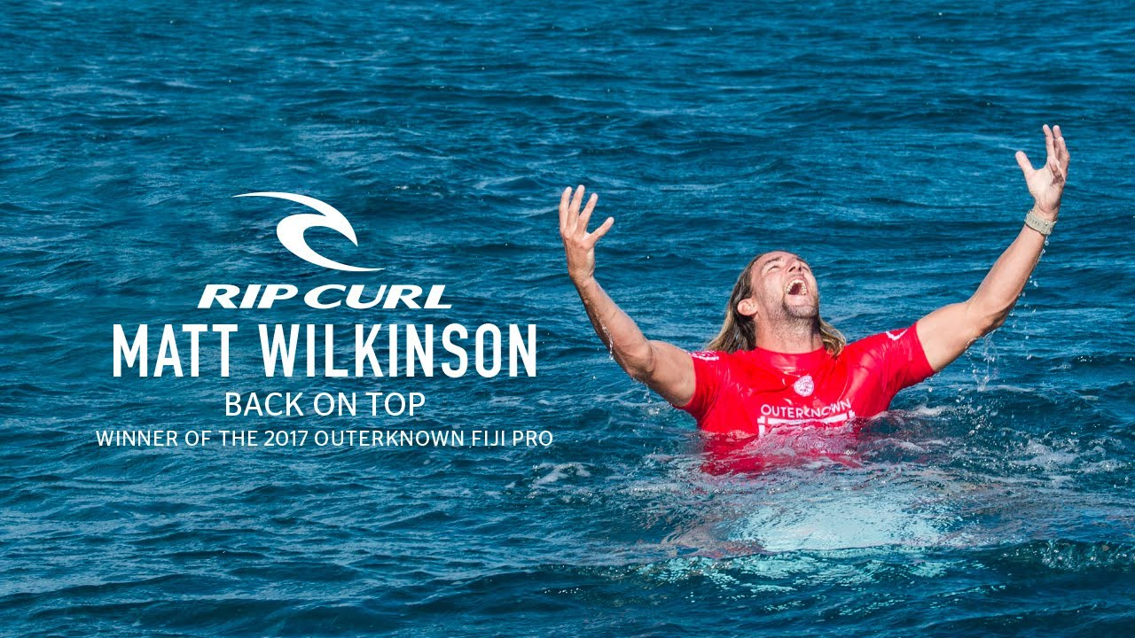 Matt Wilkinson Wins The 2017 Outerknown Fiji Pro, Takes Yellow Jersey