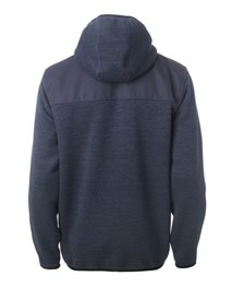 Faded Hooded Polar Fleece