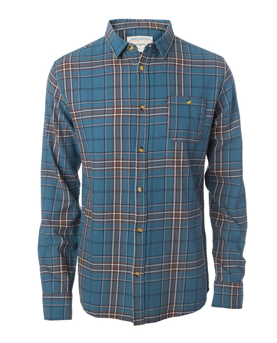 Faded Check Shirt