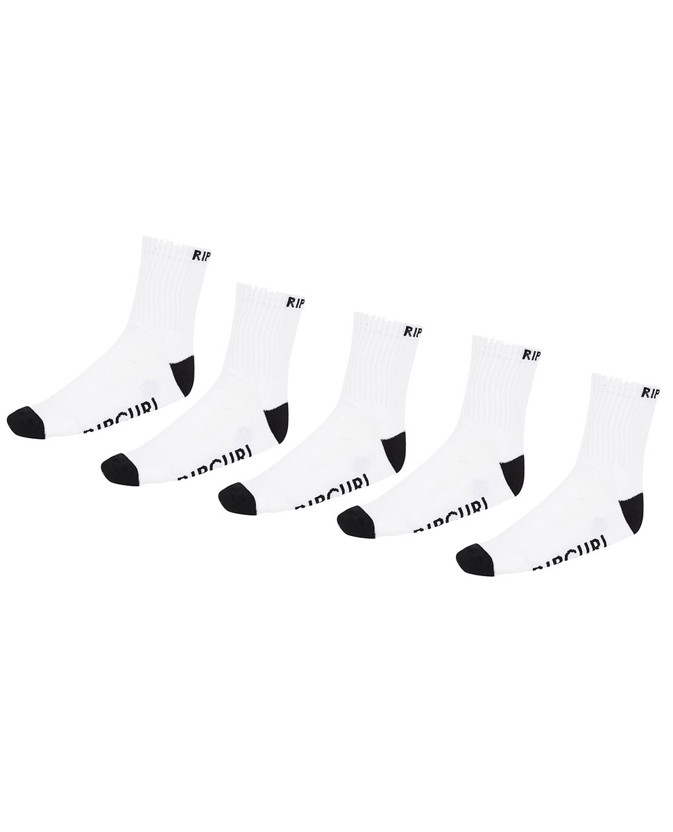 Ripcurl Crew Sock  5-Pack