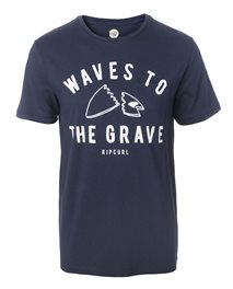 Waves To The Grave Tee
