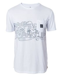 Beach Party Frieze Vaporcool Tee