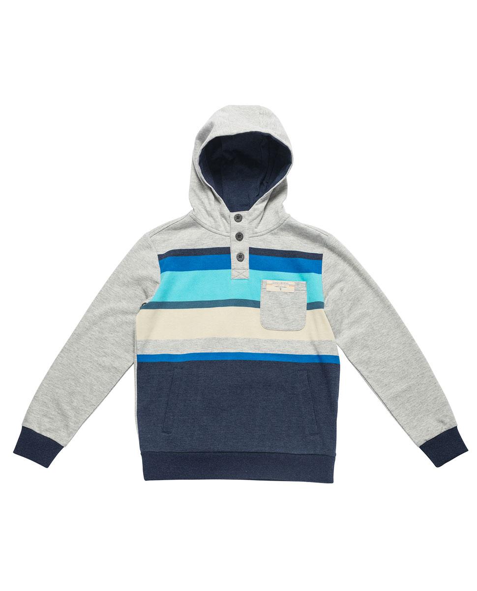 fe1cced90 Multi Stripe Hooded Fleece