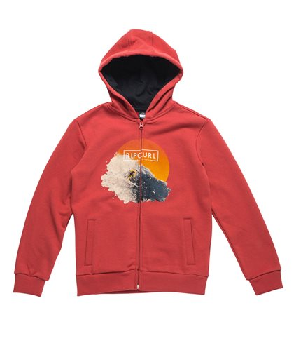 Most Photoprint Hooded Zip Fleece
