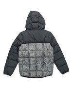 Color Block Puff Jacket