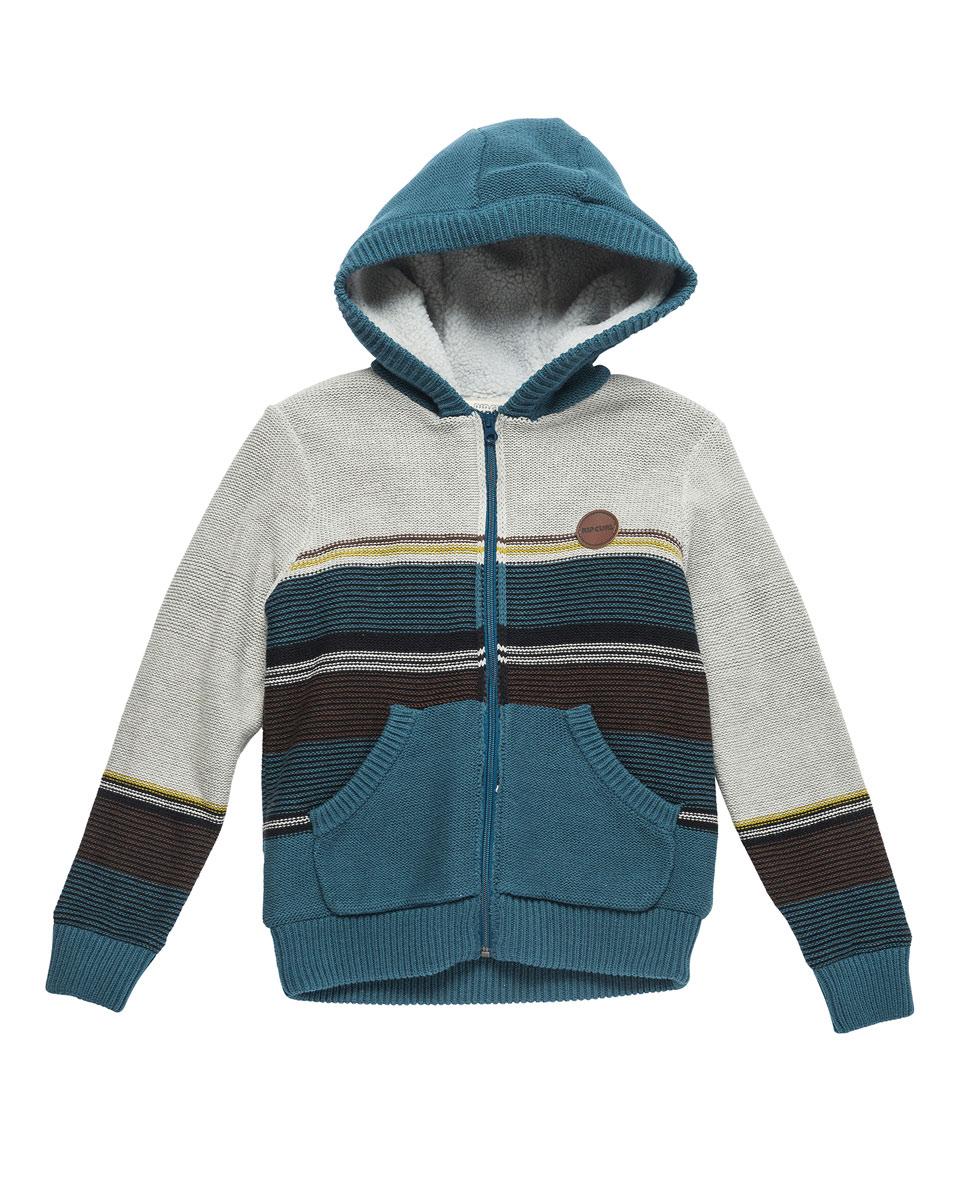 Jacquard Stripe Sweater