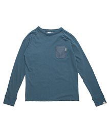 Chambray Pocket  Ls Tee