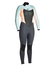 Women Omega 4/3 Back Zip - Wetsuit