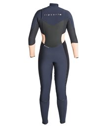 Women Flashbomb 4/3 Chest Zip - Wetsuit