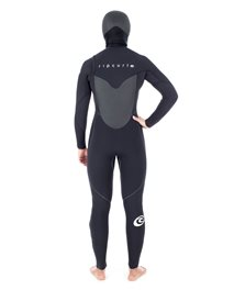 Women Flashbomb 6/4 Chest Zip Hooded - Wetsuit