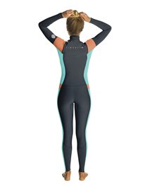 Women Dawn Patrol 3/2 Chest Zip - Wetsuit