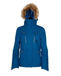 Chic Fancy Snow Jacket