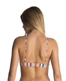 Vintage Stripes Crop - Swimwear