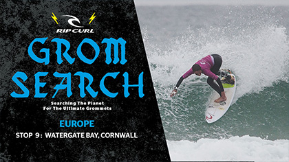 2017 European GromSearch Series Stop #9 - Watergate Bay, UK