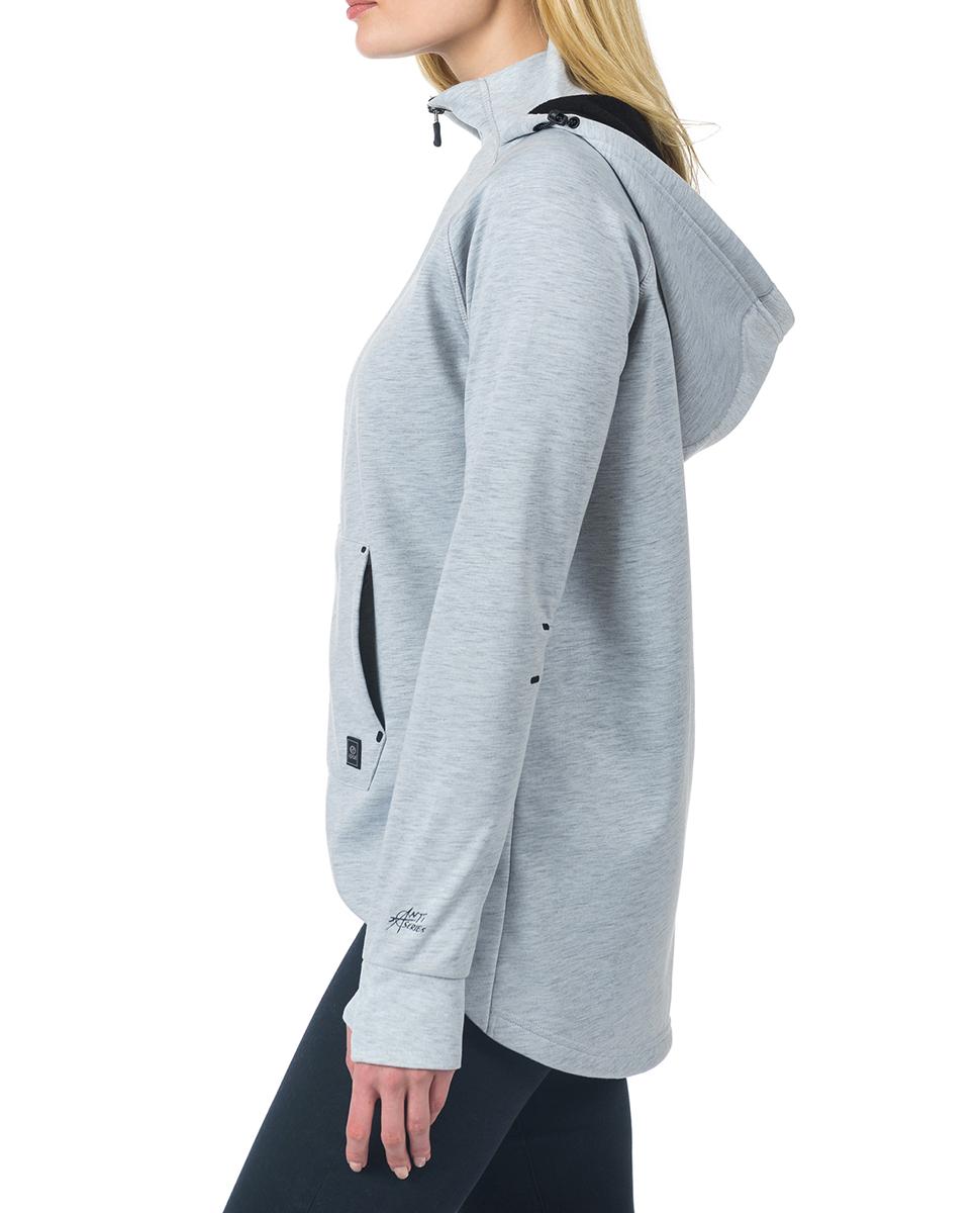 sweat hyder fleece collection anti series femme rip curl france. Black Bedroom Furniture Sets. Home Design Ideas