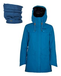 Gift Pack - Amity Search Snow Jacket + Knit Tube