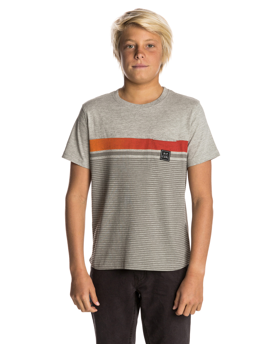 Gradian Striped Tee