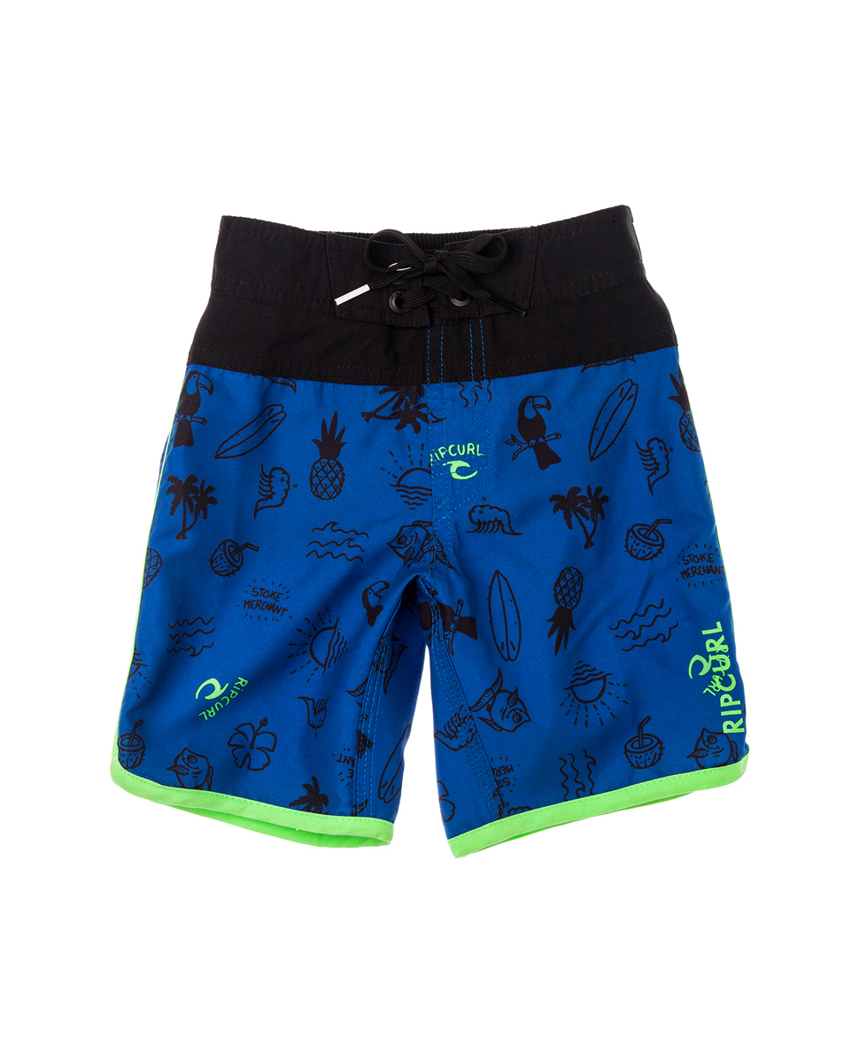 Pacific Rules S/E Boardshort 12""