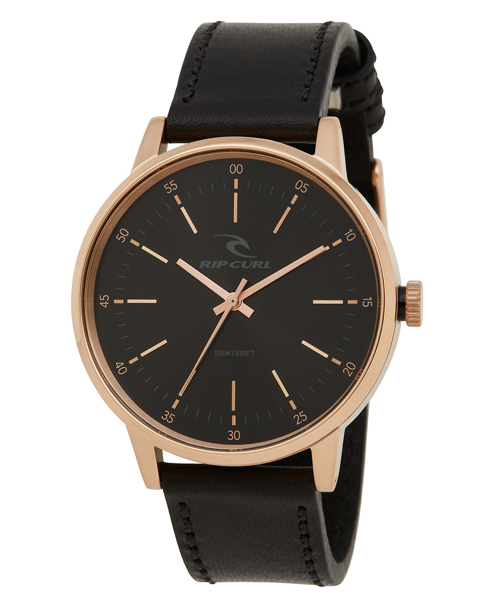 Drake Leather Rose Gold Watch