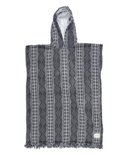 Black Sands Hooded Towel