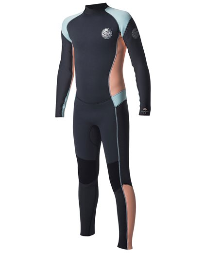 Junior Girl Dawn Patrol 4/3 Back Zip - Wetsuit
