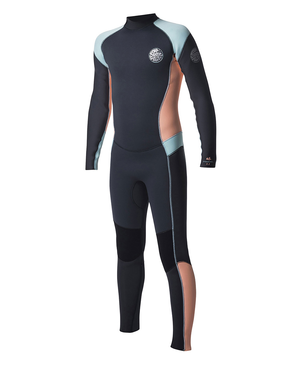 Junior Girl Dawn Patrol 5/3 Back Zip - Wetsuit