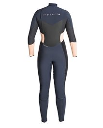 Women Flashbomb 4/3 Chest Zip - Wetsuit