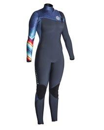 Women G Bomb 4/3 Zip Free - Wetsuit