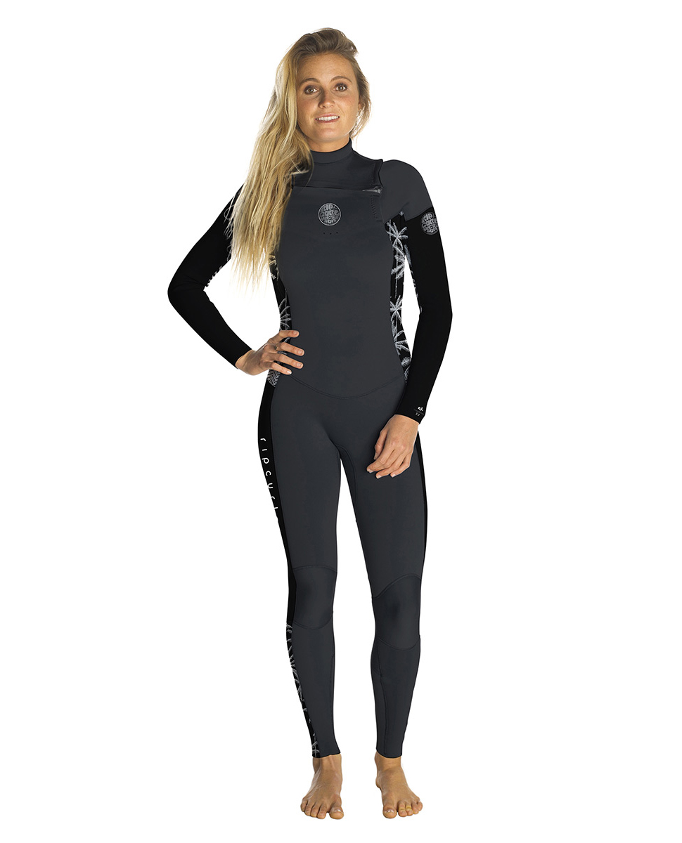 Women Dawn Patrol 5/3 Chest Zip - Wetsuit