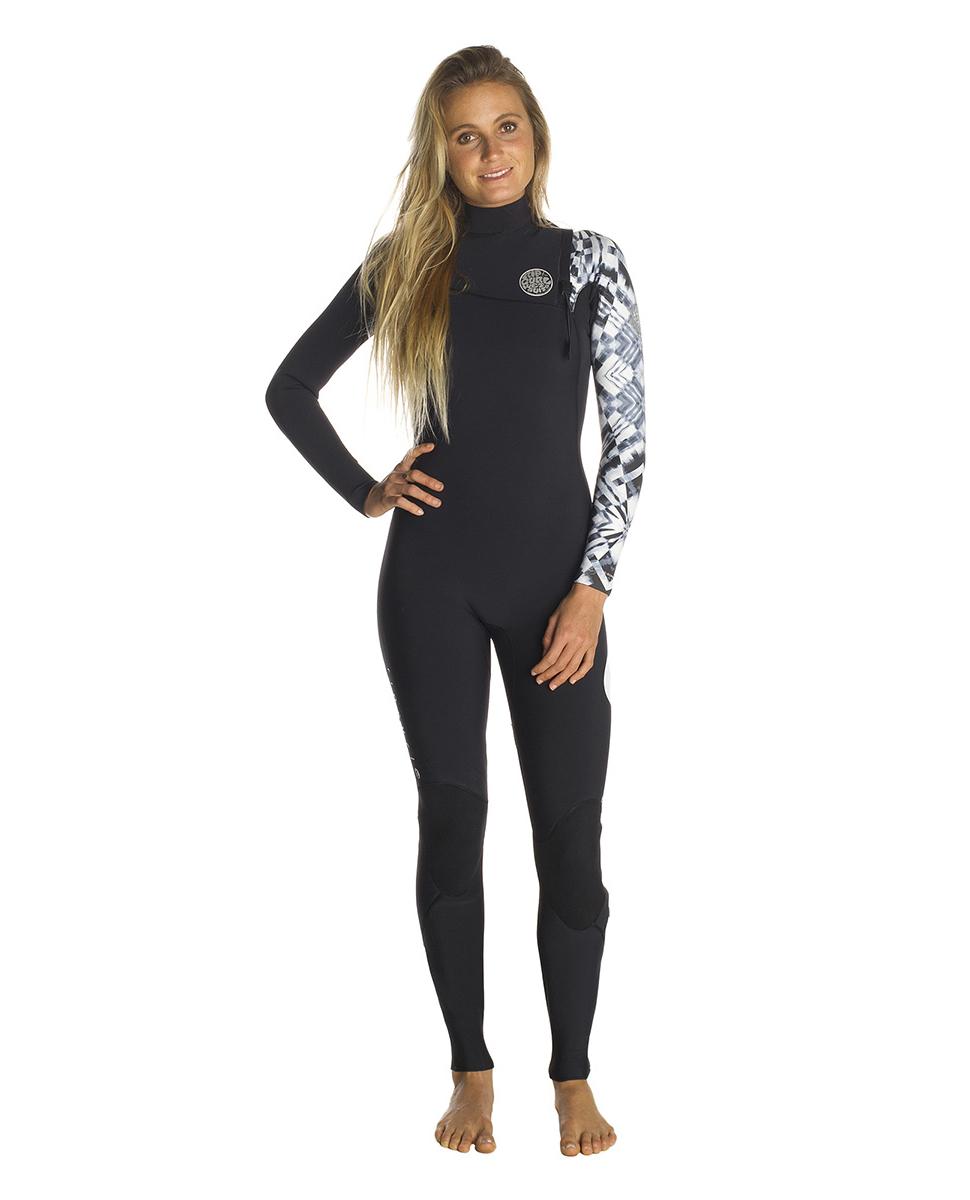 Women G Bomb 5/3 Zip Free - Wetsuit