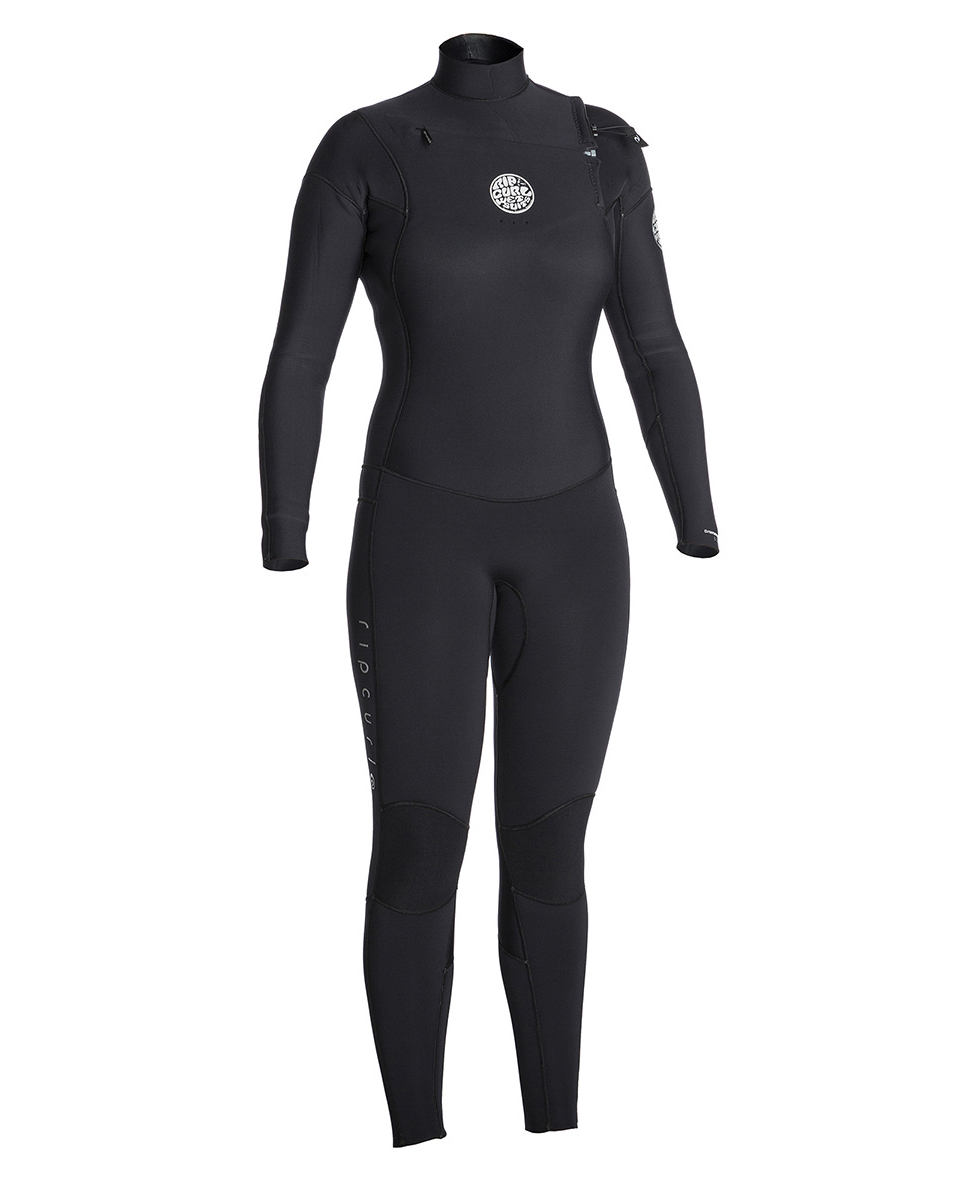 Women Dawn Patrol 4/3 Chest Zip - Wetsuit
