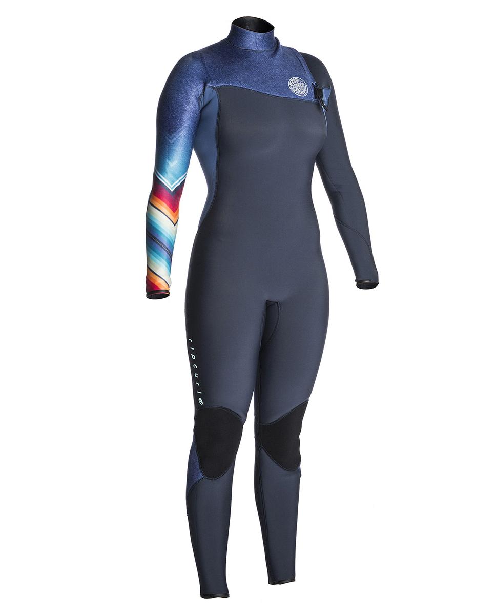 Women G Bomb 3/2 Zip Free - Wetsuit